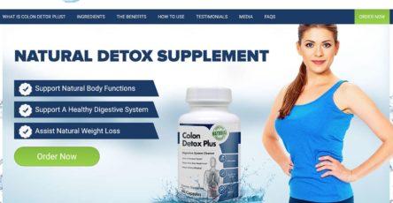 colon detox plus website