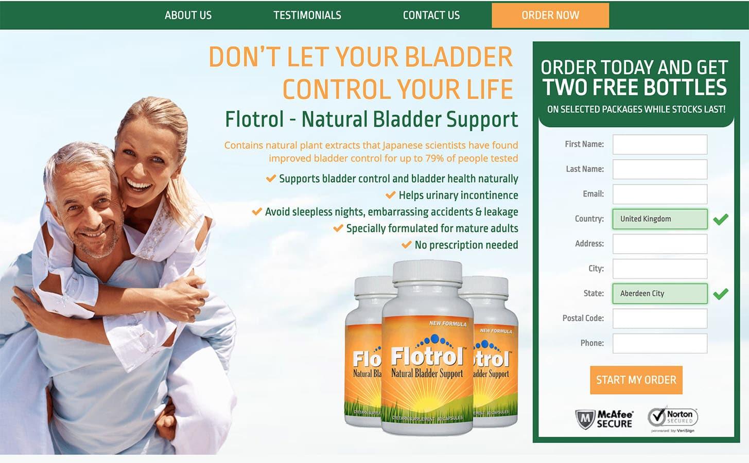 flotrol uk, ireland website