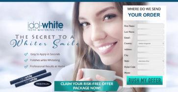 idol white uk website