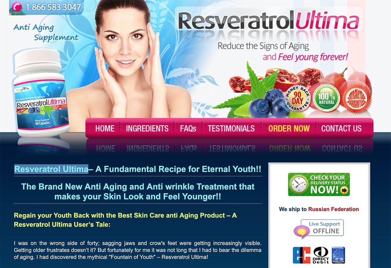 Resveratrol Ultima