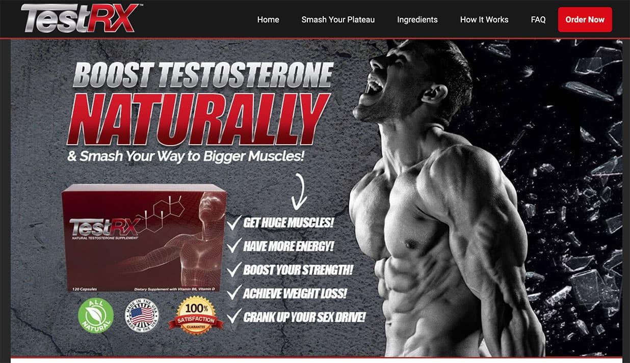 TestRX UK Ireland Website