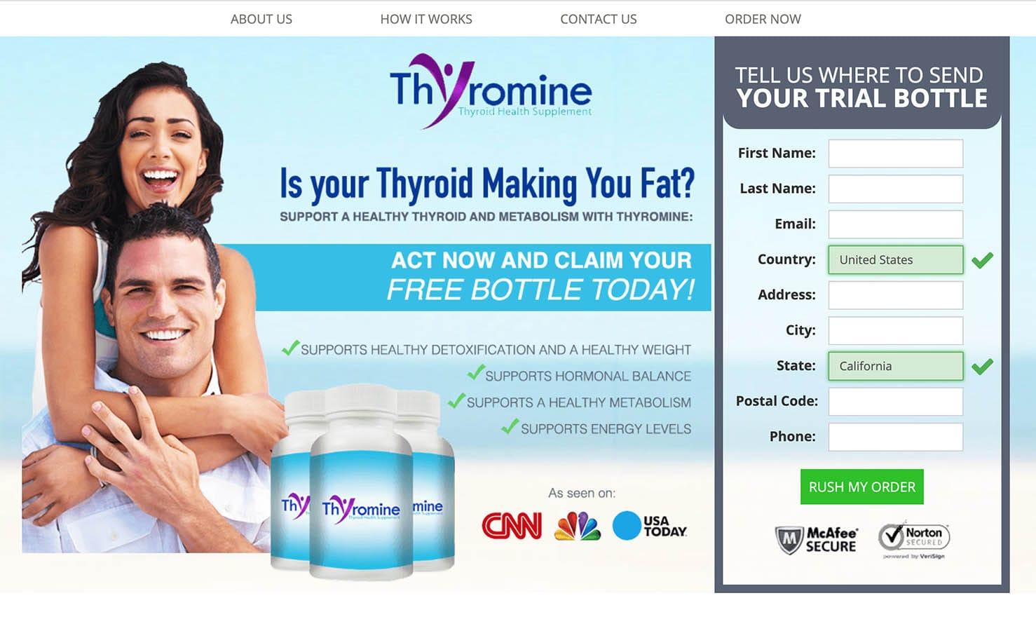 thyromine uk, ireland website