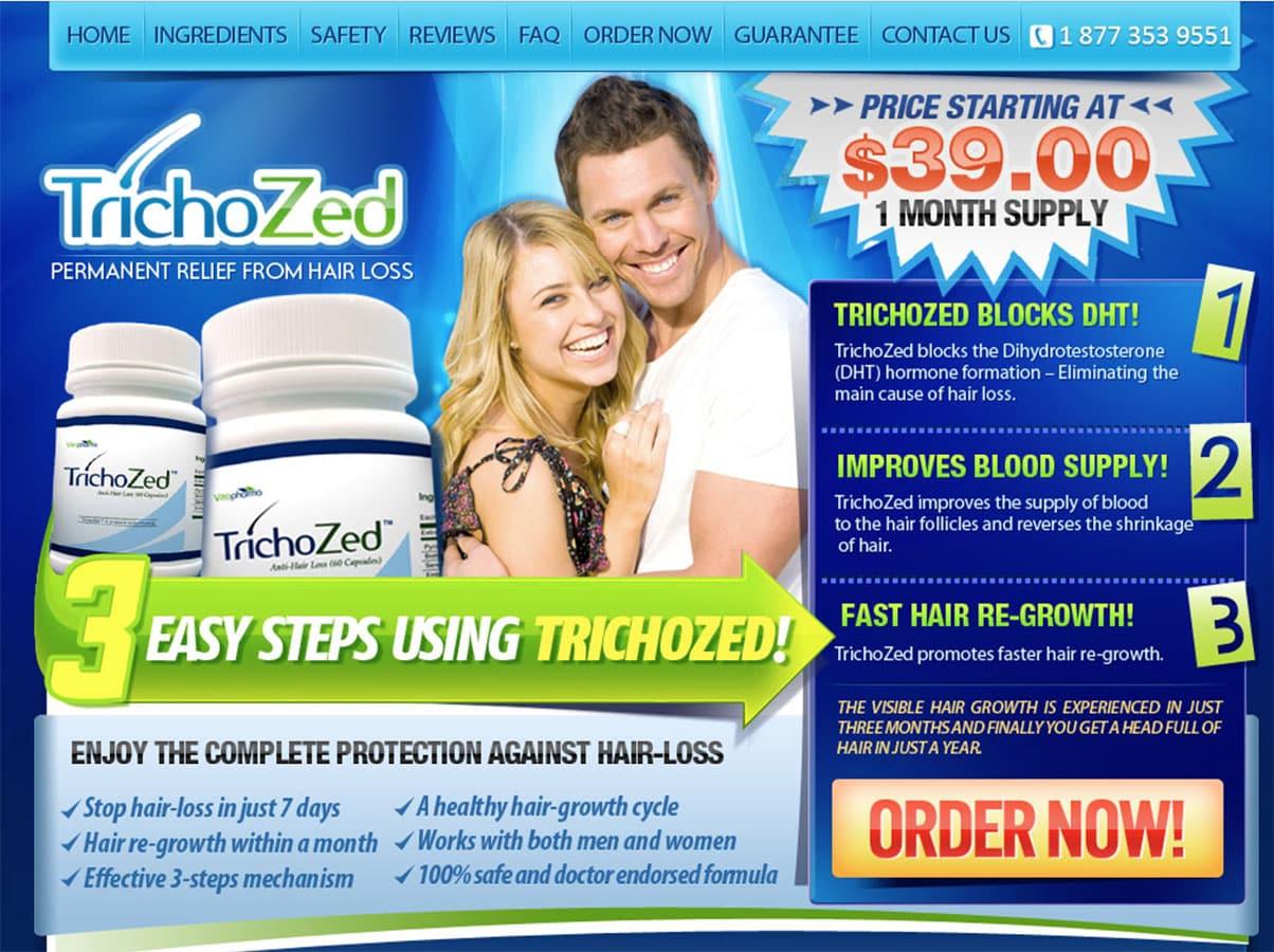 trichozed uk website